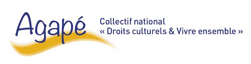 bandeau Agapé Collectif national Droits culturels et Vivre ensemble