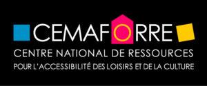 logo Cemaforre centre national de ressources pour l'accessibilité culturelle