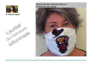 laureat du concours kif ton mask