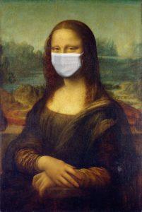 Monalisa masque coronavirus
