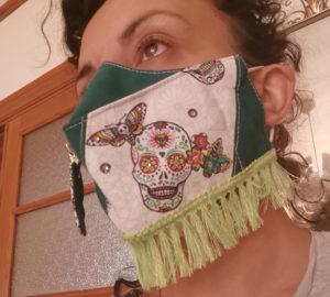 Kif ton mask Alessia Vanin porte son Masque Agata